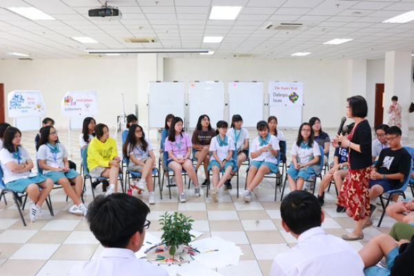 International Exchanges between Lawrence S. Ting School and Schools from Taiwan and Korea