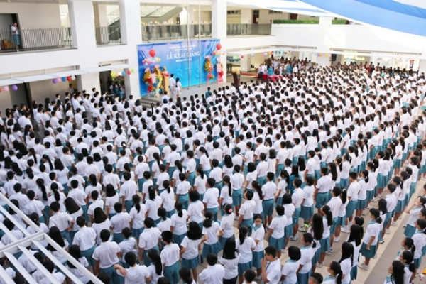 Lawrence S.Ting School Opening Ceremony 2017-2018