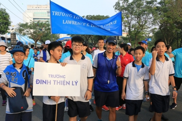 LSTS with Charity Walk activity: sharing and spreading the charitable spirit
