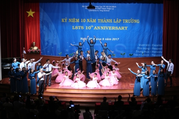 LSTS celebrated anniversary of 10 year-establishment