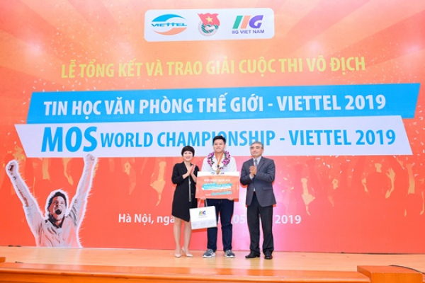 LSTS's student won the champion of the MOSWC 2019 national competition
